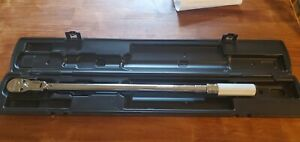 Mint Snap on 1 2 Drive Qd3fr250a flex 80 tooth Torque Wrench