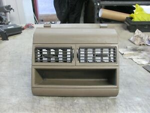 Chevy Gmc Suburban Silverado Tahoe Blazer Center Dash Bezel Vents 88 94 Tan