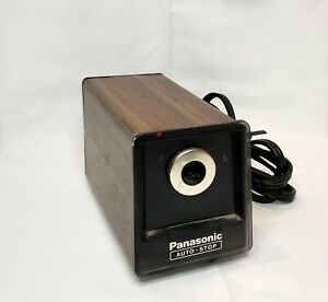 Vintage Panasonic Kp 77 Electric Pencil Sharpener With Auto stop Feature Tested