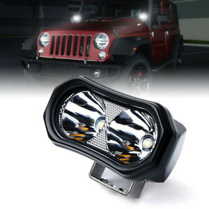 Xprite Mini Led Work Light Spot Beam Offroad Driving Fog Lights For Trucks Jeep