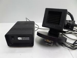 Nikon Microscope Lamphouse For Hg 100w And Applied Imaging Motor Control As Is