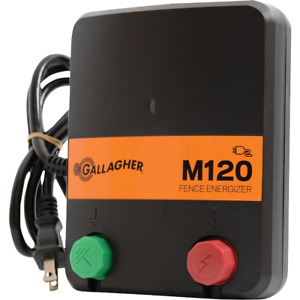 Gallagher M120 60 acre Electric Fence Charger G330434 1 Each