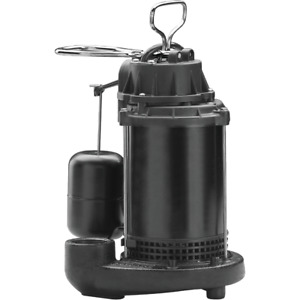Wayne Water System 1 3 Hp 115v Cast iron Submersible Sump Pump Cdu790 56137 1