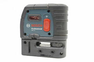 Bosch Gpl5 5 point Red Alignment Cross line Auto leveling Laser Level