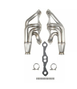 Flowtech 11572flt Small Block Chevy Turbo Headers 1 7 8 304 Stainless