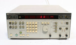 Hp Agilent 3326a Two Channel Synthesizer