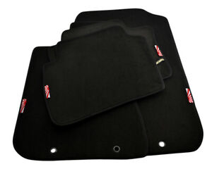 Floor Mats For Acura Rsx 02 06 Black Tailored Carpets With Japan Sunset Emblem