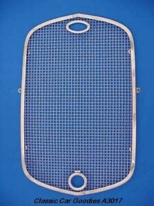 1930 Ford Radiator Stone Guard Polish Stainless Steel