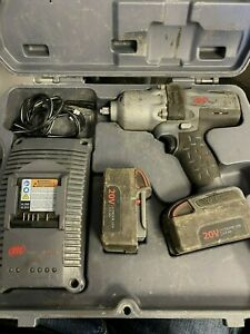 Ingersoll Rand W7150 Cordless Iqv 20 Volt 1 2 Drive Impact Wrench