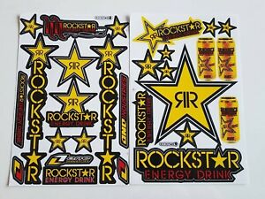2x Rockstar Energy Yoshimura Metal Mulisha Racing Stickers Ktm Motorrcross Fox