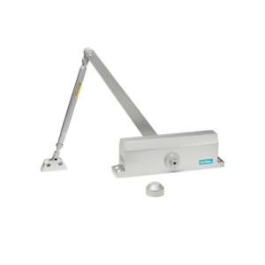 Commercial Door Closer With Backcheck In Aluminum Size 4
