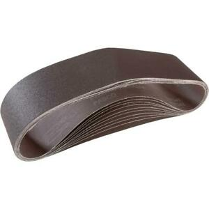 Grizzly T21483 4 X 36 A o Sanding Belt 150 Grit 10 Pk