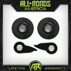 Fits 97 02 Ford Expedition 4wd 3 Steel Fr Keys 2 Rr Billet Spacers Lift Kit