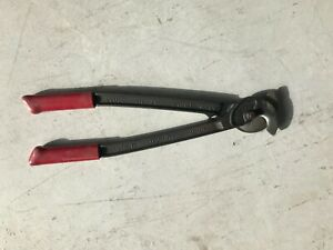 Klein Utility Cable Wire Cutter no 63035 Cuts Up To 350 Mcm Free Shipping