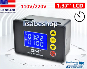 Ac 110 220v Timer Relay Microcomputer Time Controller Delay Relay Module 1 37