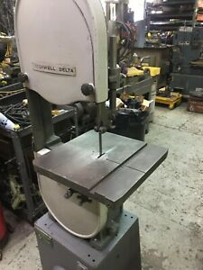 Delta 28 300 14 Vertical Band Saw Wood And Metal