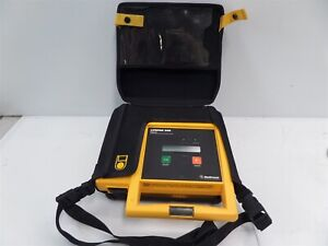 Medtronic Lifepak 500 Aed With Carrying Case As Is Untested