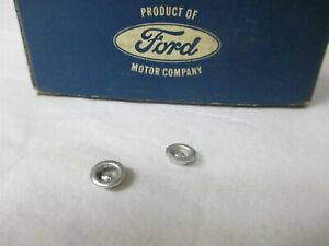 Oem Ford Nos 64 69 69 Mustang Shelby Cougar Door Data Plate Warranty Tag Rivets