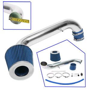 Eit For 1996 2000 Honda Civic Cx Dx Lx 1 6l L4 Cold Air Intake Kit Blue Filter