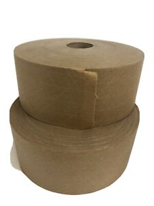 Packing Gummed Tape Water Activated Reinforced Kraft Paper Wide 2 3 4