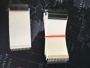 lot Of 16 flexible Flat Ribbon Cable 14 Way wire Jumper Cable