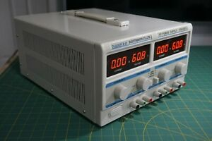 Digital Lab Power Supply Dual Up To 120v Or 10a 600w