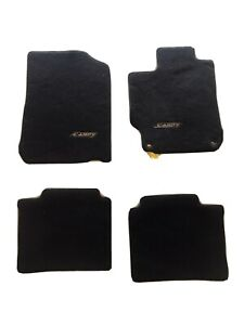 2012 2017 Toyota Camry Genuine Oem Carpet Floor Mats Mat Black