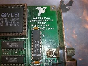 National Instruments At gpib Turbo Interface Pcb