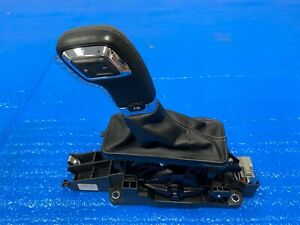 2015 2016 Ford F150 Floor Shifter Automatic 6 Sp Leather Black W Gray Stitching