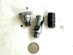 3 Snap On Tools U Joints Fu8a 3 8 X 1 2 Adapter Pa 2 Spinner Frs70 3 8 Dr