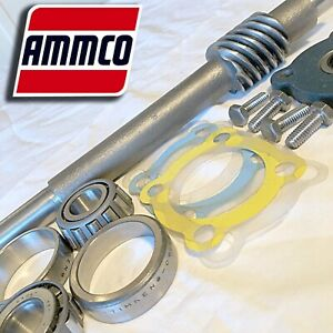 Ammco 9847 Worm Drive Shaft Races Bearings For 3000 4000 7000 Brake Lathes
