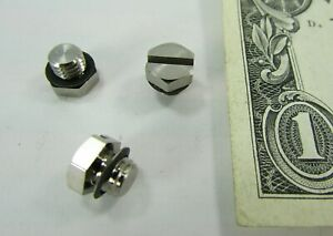 Lot 10 New Smc Metric Pneumatic Plug Fittings With Gaskets M5 X 8 Threads M 5p