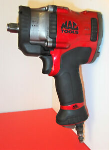 Mac Tools Mpf990501 High Performance 1 2 Drive Air Impact Wrench W light Nice