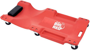Torin Big Red Rolling Garage shop Creeper 40 Plastic Mechanic Cart With New