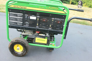 John Deere Ac g8010s e Large Frame Electric Start Generator 6 Hours Local Only