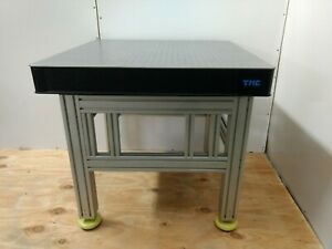 Crated Tmc 78 Series Optical Breadboard Table Adjustable Height Bench Lab
