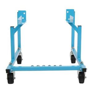 Fit For Ford Engine Cradle Stand 1000lb Motor Dolly Cradle Repair W Casters