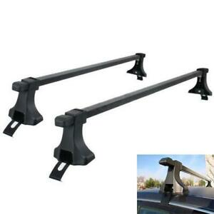 54 Universal Roof Top Rack Cross Bars Luggage Carrier Mount Suv Truck