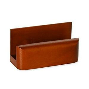 Rolodex Wood Tones Business Card Holder Capacity 50 Cards Of 2 25 X 4 Inches