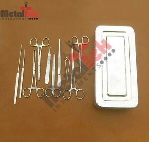 Veterinary Surgical Spay Instruments Kit Of High Quality Stainless Steel