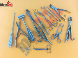 Veterinary Orthopedic Kit Of 15 Pcs Surgical Orthopedic Instruments
