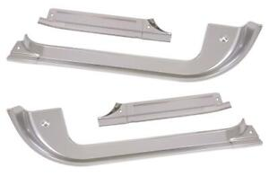 1985 1986 1987 Chevy Gmc Truck Front Door Sill Plates Front Rear Set 4 Pc