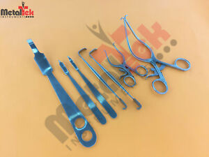 Knee Surgery 7 Pcs Set Surgical Orthopedic Instruments Stainless Steel
