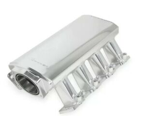 Holley 820031 1 Sheet Metal Fabricated Intake Manifold Ls Cathedral Port Rails