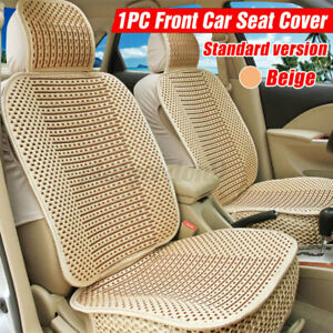 Cool Universal Breathable Wood Fiber Car Front Seat Cover Cushion Cover Mat Usa