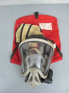 Msa Ultra Elite Full Facepiece Respirator Air Mask 7 935 4 Med W clearcom Amp