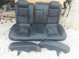 06 Chrysler 300 Srt 8 Black Leather Rear Seat