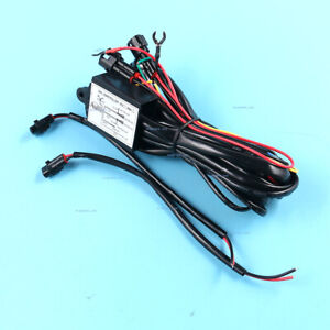 Led Daytime Running Light Relay Harness Automatic On Off Auto Control Switch