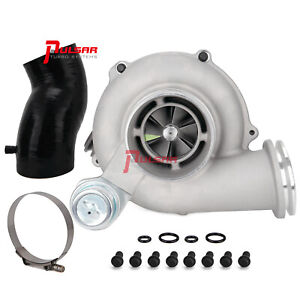 Pulsar Gtp38r Ball Bearing Turbo For 99 5 03 7 3l Ford Powerstroke Cast 0 84 A r