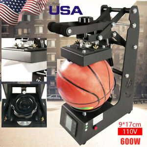 Pro Manual Heat Press Machine For Ball Heat Transfer Logo Printing Machine New